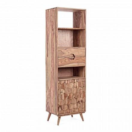 Golvbokhylla med träkonstruktion Vintage Homemotion - Ventador