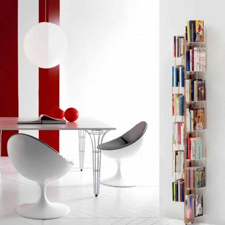 Modernt bibliotek från marken fixerad vid faster Veronica Wall