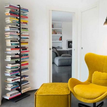 Modernt bibliotek från marken fäst på väggen faster Bice