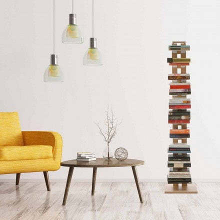 Bibliotek modern design Kolumn faster Hortense