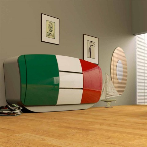 Modernt designbordet helt och hållet i Italien Boom