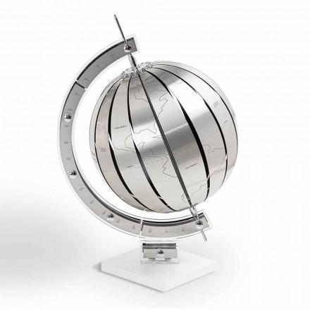 World Globe av modern design bord, tillverkad i Italien