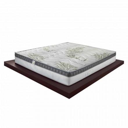 Enkel madrass av hög kvalitet i minnet 25 cm Hög Tillverkad i Italien - Idé