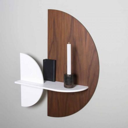 Modulär hyllan Elegant och modern design i målad plywood - minnesförlust