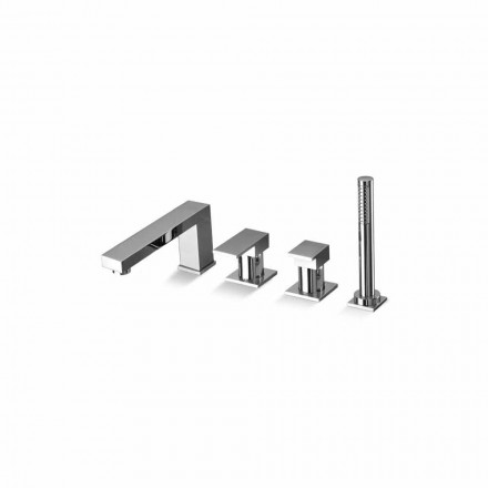 Tillverkad i Italien Design Brass 4 Hole Bathtub Mixer - Panela