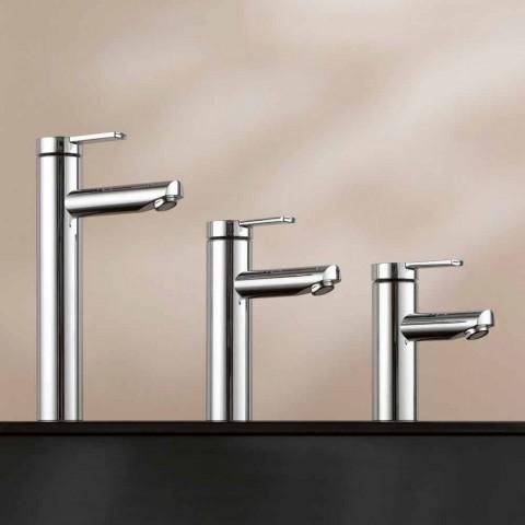 Modern design engreppsblandare för handfat i metall - Zanio