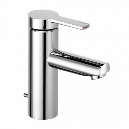 1-grepps tvättställsblandare i mässing, dyrbar design - Zanio