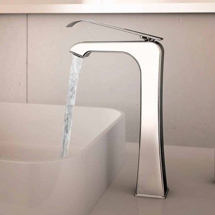 Tillverkad i Italien Design Chrome Messing Basin Mixer - Bonina