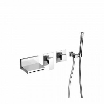Tillverkad i Italien Design Inbyggd badkarblandare - Panela