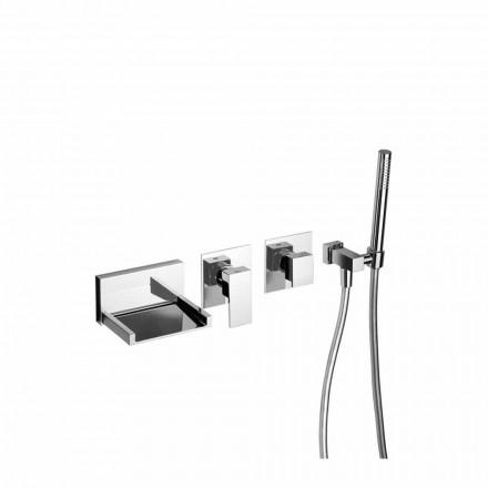 Inbyggd badblandare med duschkit Tillverkad i Italien - Bibo