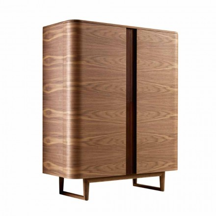 Designskåp i 2A Grilli massivt trä York tillverkat i Italien