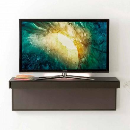 Upphängt TV-stativ med Satin Crystal Top tillverkad i Italien - Americio