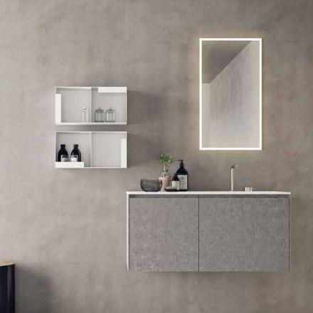 Hängande designmöbler, modern badrumskomposition - Callisi9