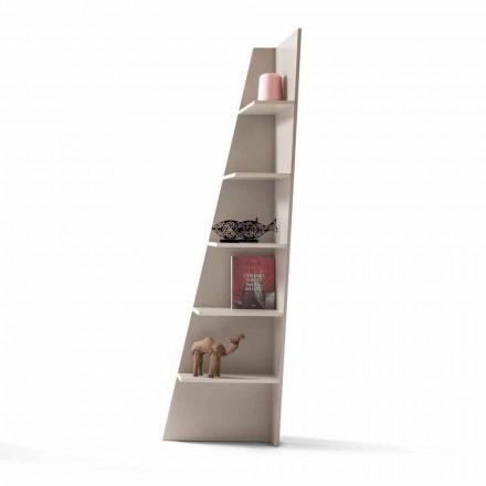 Mitt hem Esquina designhörn bokhylla MDF lackerat H220cm tillverkat i Italien