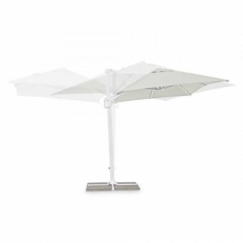 2x3 utomhusparaply i polyester med aluminiumkonstruktion - Fasma