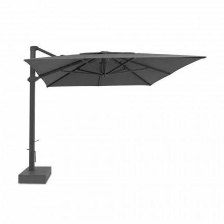 Utomhusparaply, 3x4 mt med lyxigt tygöverdrag - Athena av Talenti