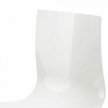 3 -sits kontorsbänk i stål och färgad återvunnen teknopolymer - Verenza