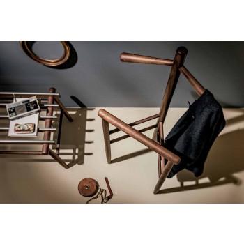 Bagagebänk i massiv valnöt eller aska tillverkad i Italien - Anubi