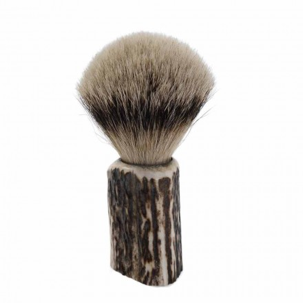 Handgjord Badger Hair Rakborste Tillverkad i Italien - Euforia
