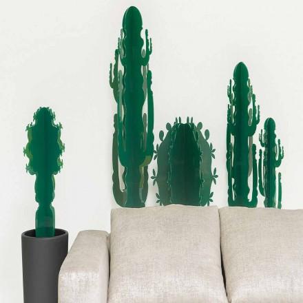 Prydnadsväxter i plexiglas, i flera färger, H 102 cm, Braies