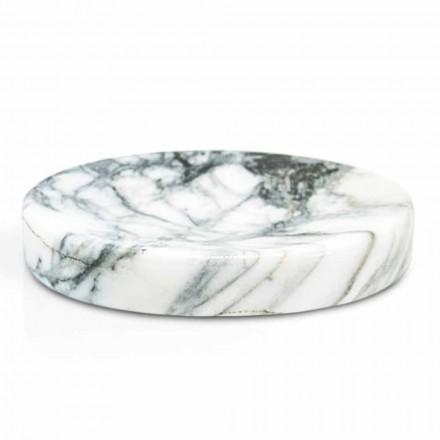 Tvåltvätt i badrummet i Paonazzo marmor Modern Tillverkad i Italien - Argos
