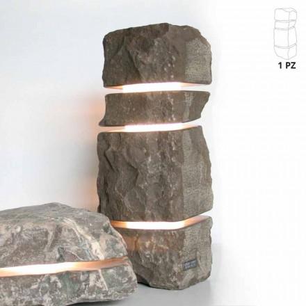 Sten Marmor Fior di Pesco Carnico ljus med 3 skär Stonehenge