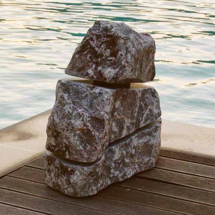 Bright Sten Marmor Fior di Pesco Carnico Led Cross, en bit