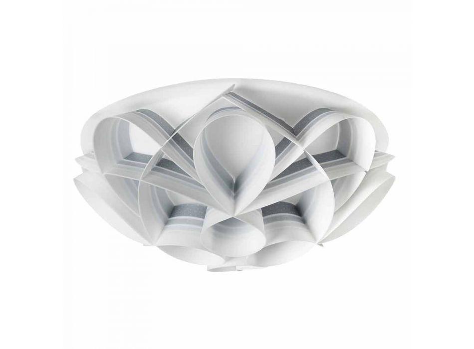 2 moderna utformning taklampor, diameter 43 cm, Lena, tillverkad i Italien