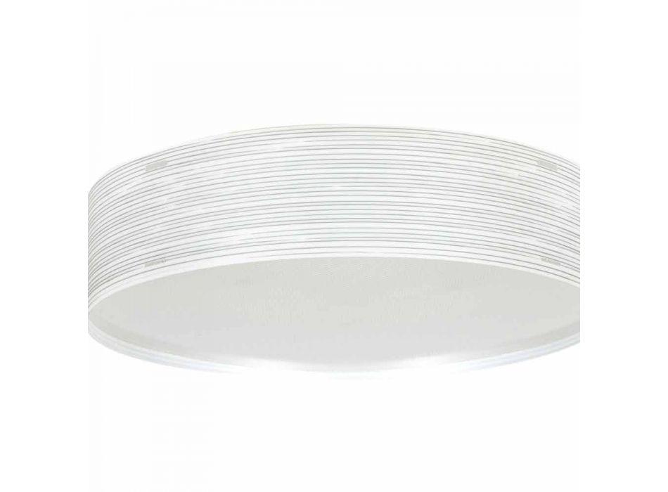 2 taklampor i modern design polypropen Debby, 45cm diameter