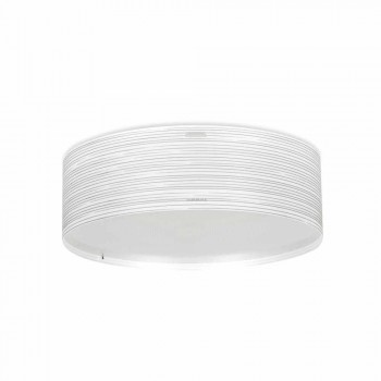 3 taklampor modern design polypropen Debby, 60 cm i diameter
