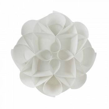 3 taklampor made in Italy vit pärla, diameter 51 cm, Lena