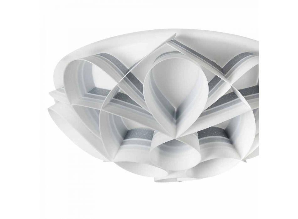 3 taklampor som gjorts i Italien av modern design, diam. 51 cm, Lena