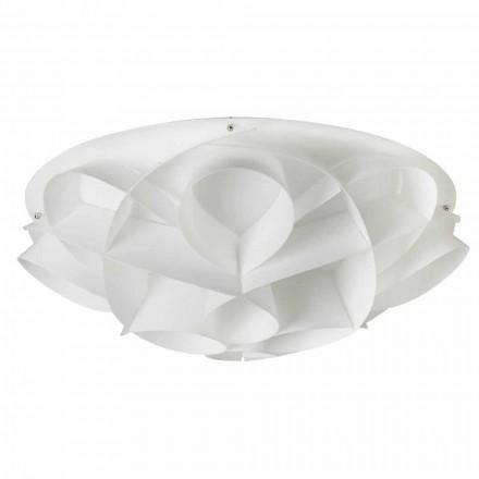 Taklampor 4 vit modern design pärla diam. 70 cm, Lena