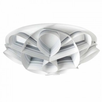 4 taklampor i modern design som gjorts i Italien, diam. 70 cm, Lena
