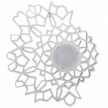 Taklampa Applikation i Technopolymer White eller Gold Design 2 storlekar - Cathedral
