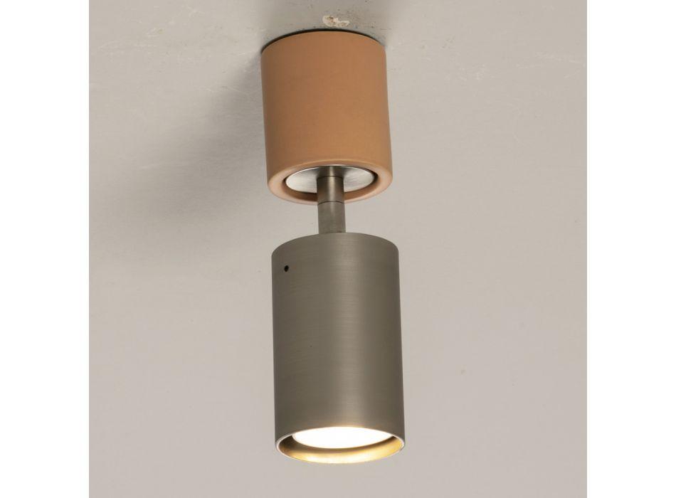 Artisan taklampa i keramik och metall tillverkad i Italien - Toscot Match