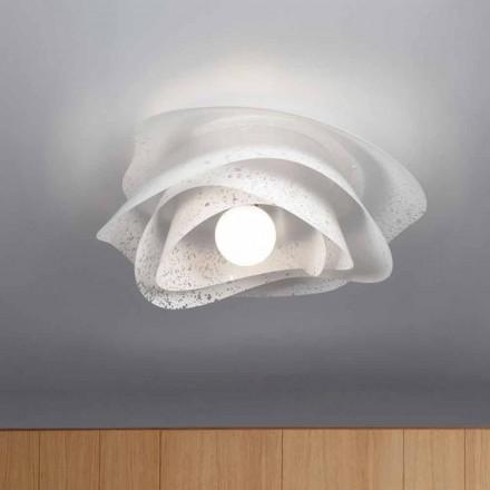 vit modern design 55 tak cm diameter Antalya, tillverkad i Italien