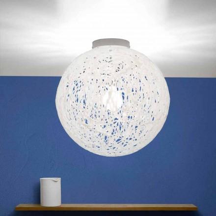 Modern design taklampa tillverkad i Italien Mady, diameter 48 cm