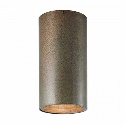järn eller mässing taklampa industriell stil solrosor Il Fanale