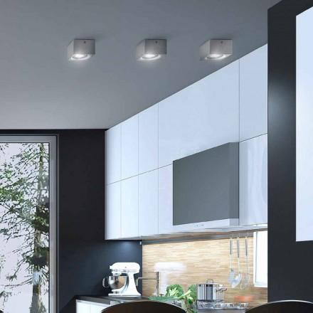 modern kvadrat tak gips eller betong konstruktion Nadir