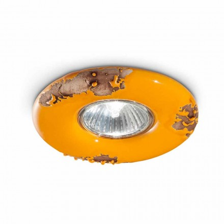 Runda tak tappning handgjord keramik Paula Ferroluce