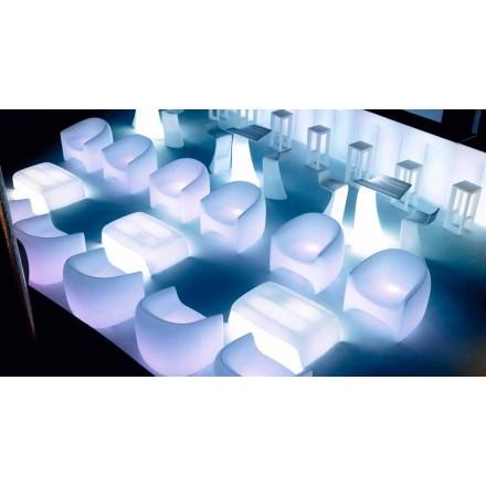 Modern design utomhus fåtölj, i polyetenharts Blow by Vondom