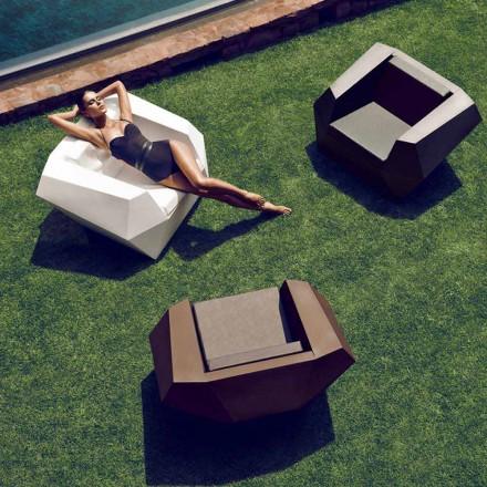 Modern design utomhus fåtölj, i polyeten, Faz av Vondom