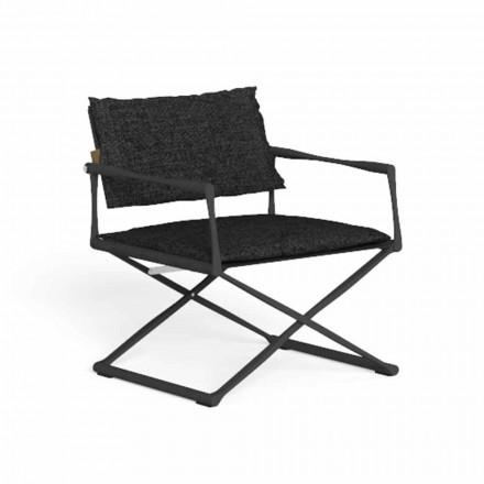 Hopfällbar trädgårdsstol i högkvalitativ aluminium - Riviera av Talenti