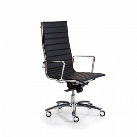 Verkställande läder kontorsstol eller tyg Ljus Luxy