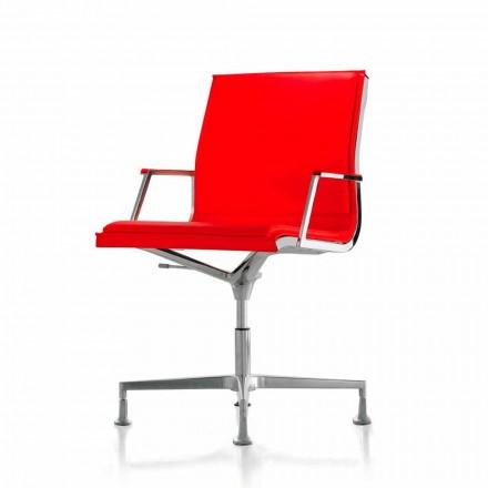 Fåtölj Executive läder eller tyg kontor Nulite Luxy