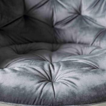 Fåtölj med modern design med Capitonnè-tillverkning - Enea