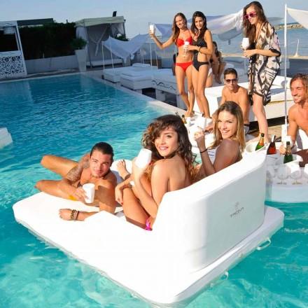 flytande pool stol i dubbel session Trona Magnum