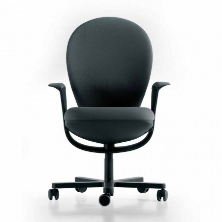 Verkställande kontorsstol konstruktion Bea, grå sits Luxy