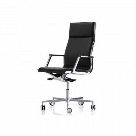 Ergonomisk kontorsstol designen med armarna Nulite Luxy